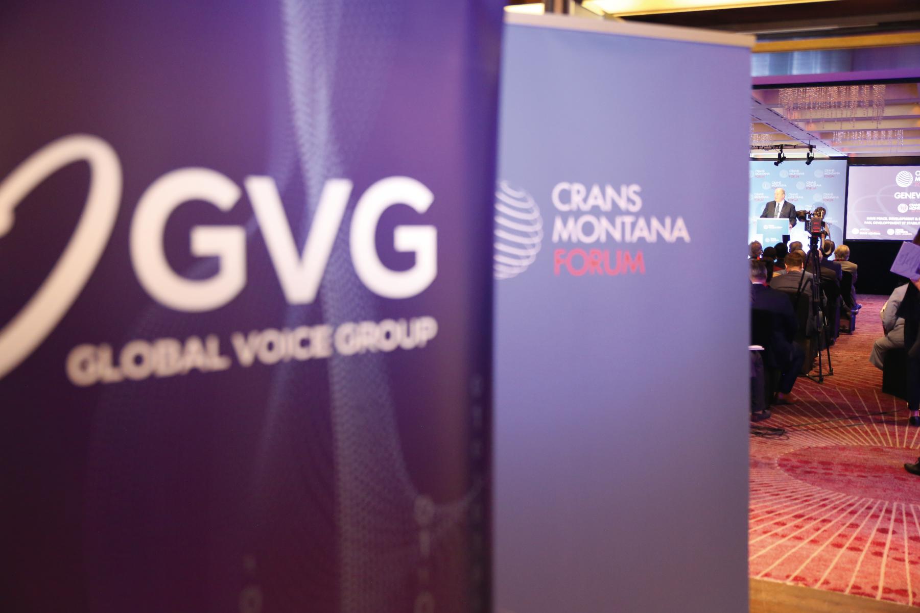 Global Voice Group, Partenaire Stratégique Du Forum De Crans Montana
