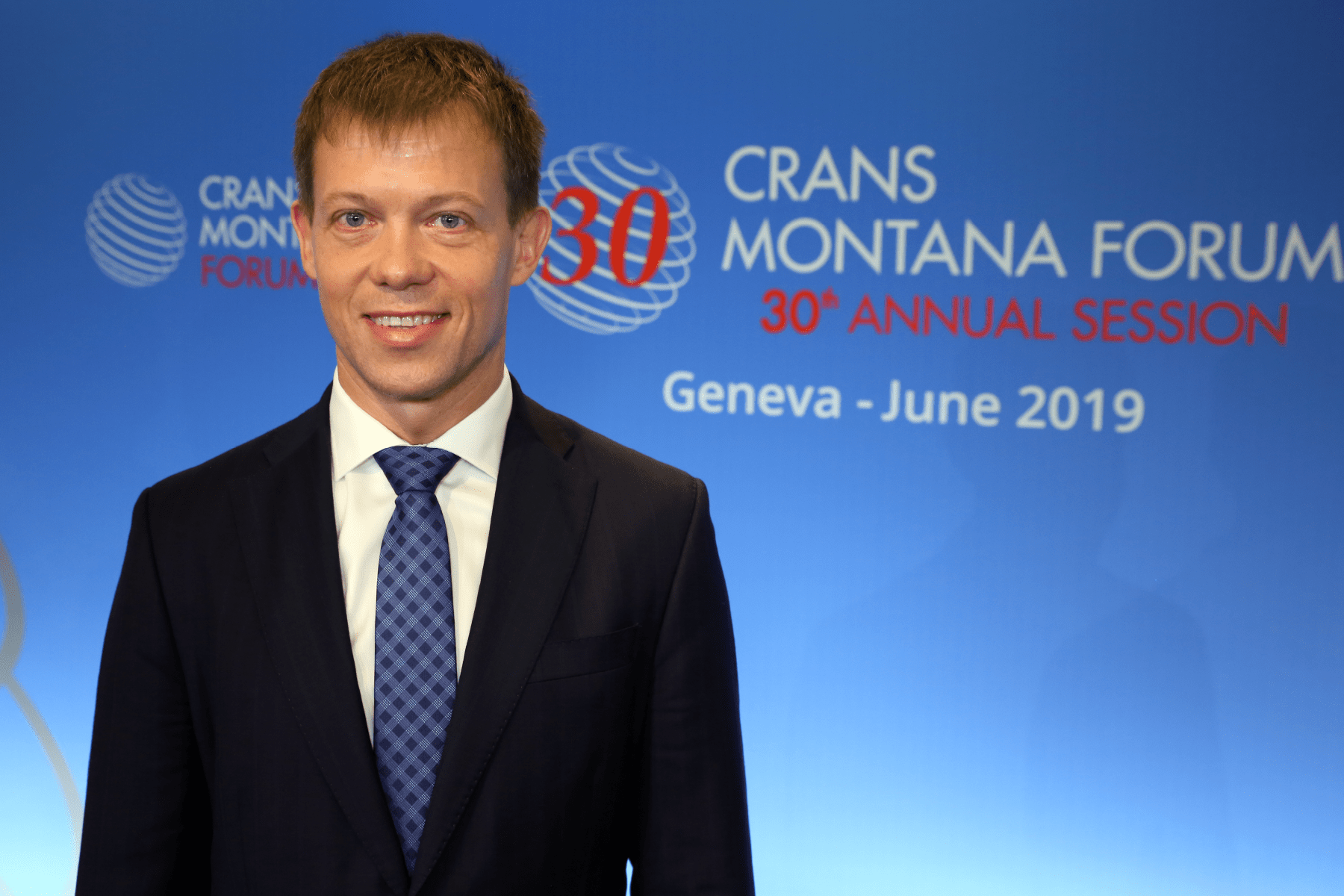 Tanel Korvel At Crans Montana Forum – 2019