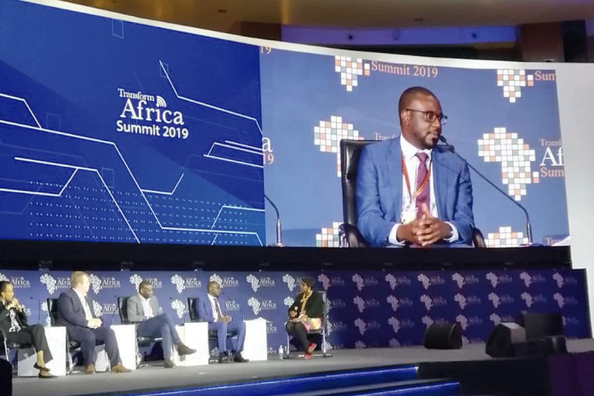 James Claude Speaking At The Transform Africa Summit (TAS) 2019