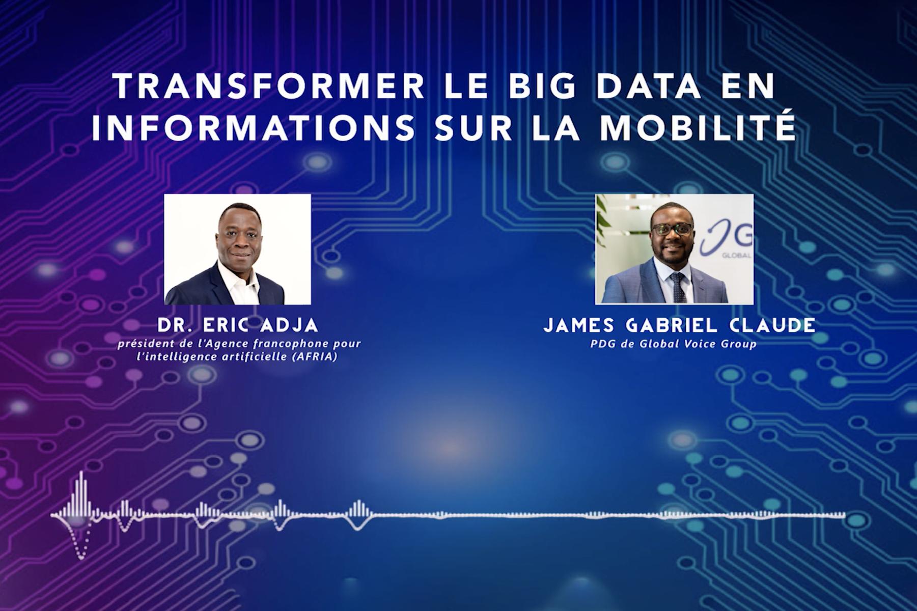 Transformer les Big data en information sur la mobilité