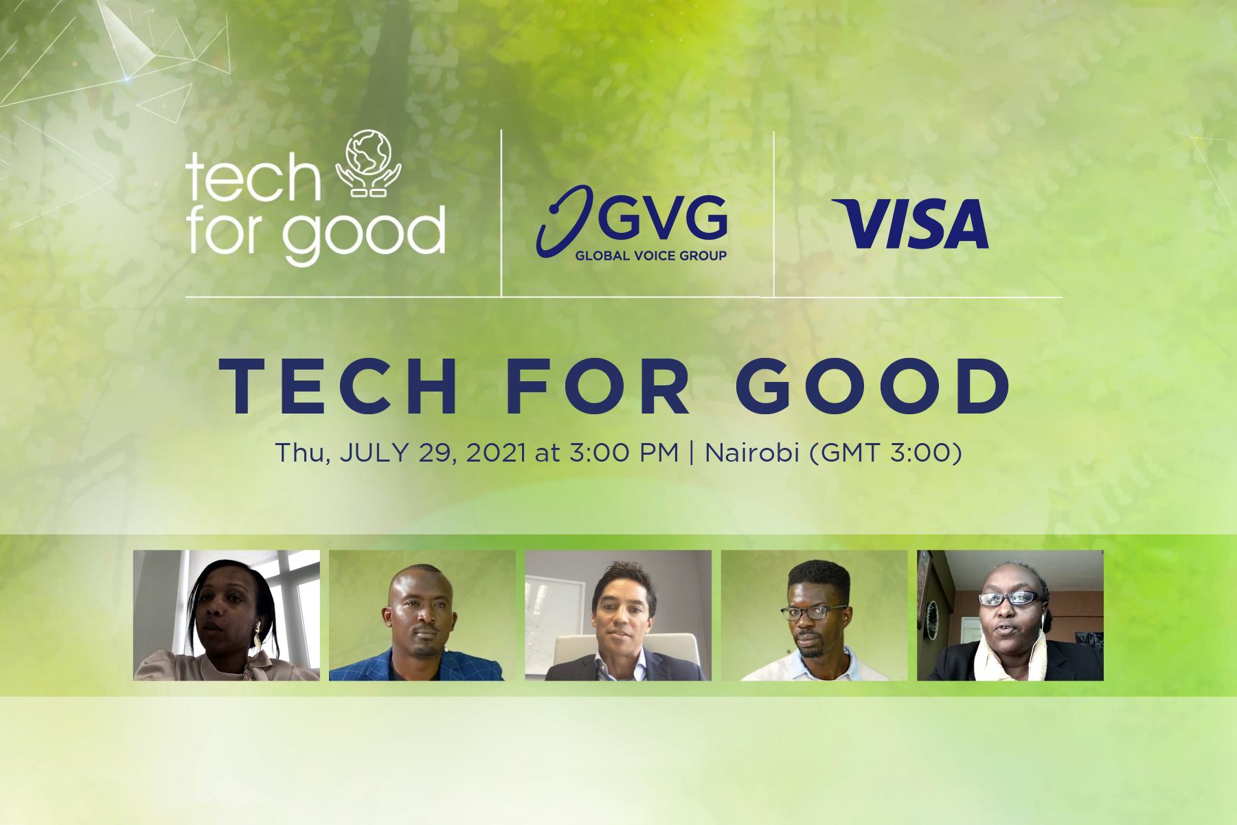 Tech for Good webinar